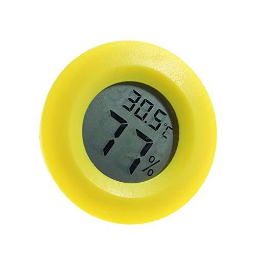 Censhaorme Mini Práctica Cubierta Digital Ronda termómetro