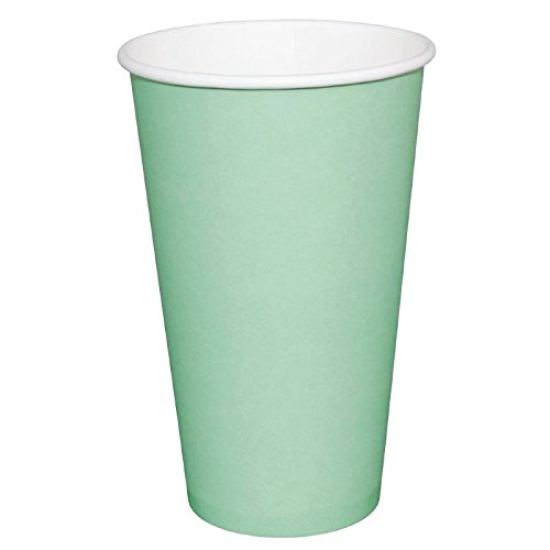 1000 x Fiesta Hot Cup Single Wand Aqua Klauenhammer, Einweg Travel Take Away