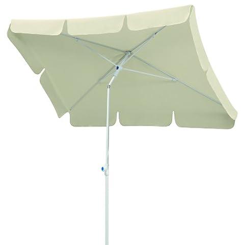 Parasol Schneider Ibiza,nature,env. 180 x 120 cm,en 4 parties,rectangulaire