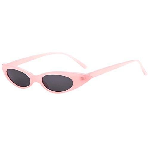 Unisex Sonnenbrille AMUSTER Retro Vintage Rapper Brille Herren Polarisierte Treiber Glasses Sport Sonnenbrillen Metallrahme Sonnenbrille Fahrerbrille (Free Size, D)