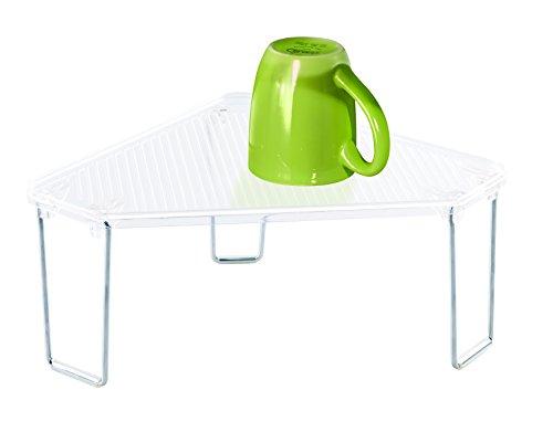 InterDesign 70000EU Linus Regal für Küchenschrank oder Arbeitsfläche, durchsichtig