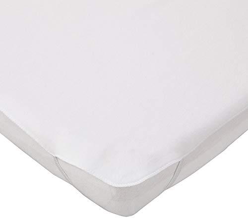 Doppelpack FabiMax 3952 Wasserdichte, kochfeste Molton-Matratzenauflage für Laufgitter 75x100 cm