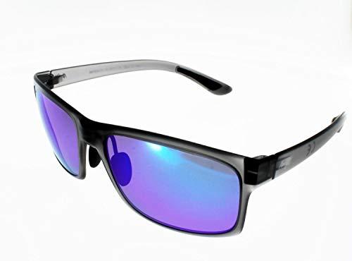 Maui Jim Polarisierte Sonnenbrille POKOWAI ARCH/BLUE HAWAII grau transparent matt Unisex Index 3 Polarizedplus 2