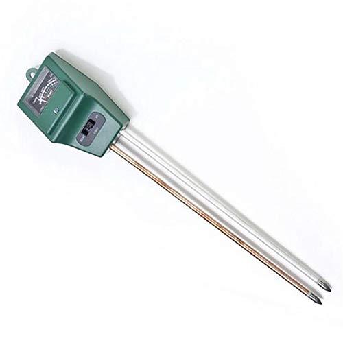 ZYBC - Higrómetro de Suelo 3 en 1 con medidor de pH para medir el Suelo y el pH de la iluminación, Detector de jardinería