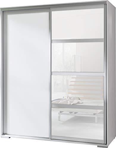 Neuf, Moderne, Garde-robe 2 portes coulissantes avec miroir \