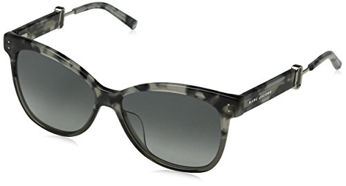 Marc Jacobs Damen MARC 130/S VK P30 55 Sonnenbrille, Havana/Grey Sf