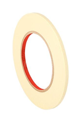 TapeCase 2380 Abdeckband 2380, 0,3 cm x 60 m 2380, 0,3 cm x 60 Yard Performance Masking Tape Converted from 3M 2380, 0,3 cm x 60 Yard Roll, Krepppapier, Hellbraun -