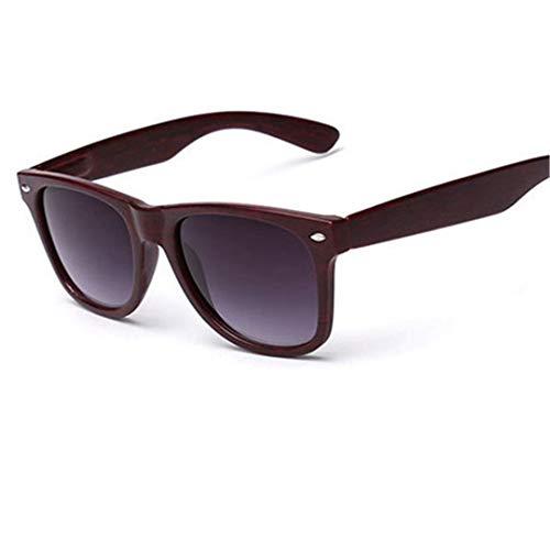 DAIYSNAFDN Vintage Sonnenbrillen Männer Frauen Sport Sonnenbrillen Holzmaserung Sonnenbrillen Goggles Green