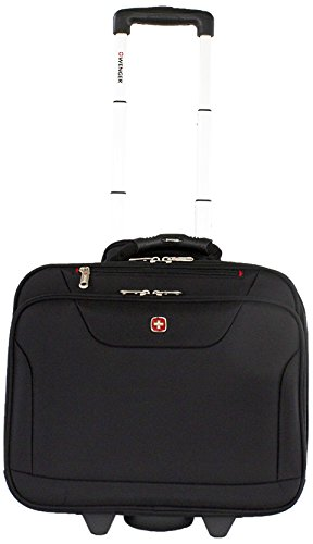 Best swiss gear bags in India 2020 Swiss Gear 10 Ltrs Black Softsided Briefcase (87732253) Image 1