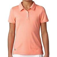 adidas CE5348 Polo de Golf, Niñas, Azul, XL