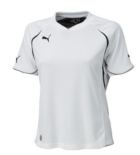 PUMA t-shirt pour femme teamsport pWR-c 1.10 wms tr thé Blanc - white-black