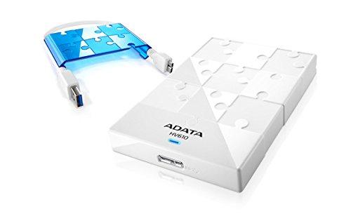 Adata HV610 1TB External Hard Disk White Price in India