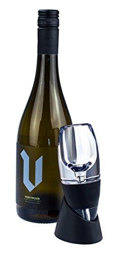 Weinbelüfter mit Sieb und Aufbewahrungshalter, Weinausgießer, Dekantierer, von Kobert-Goods
