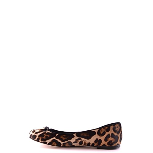 Dolce&Gabbana ballerines femme en cuir neuves miley marron Marron