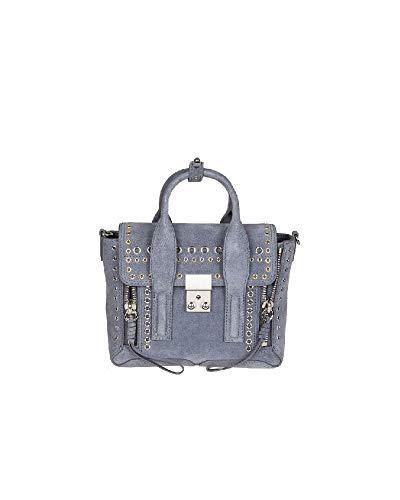 Phillip Lim 3.1 Damen Ap170226esuas400 Hellblau Wildleder Handtaschen