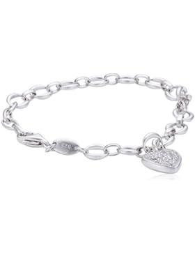FOSSIL Armband JFS00153040 Sterling Silber silber