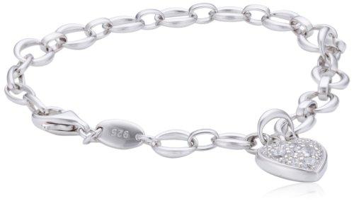 Fossil Damen-Armband Edelstahl 20 cm-JFS00153040