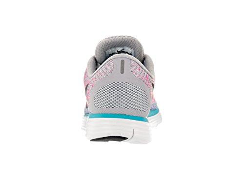 Nike hrly PHNTM HW Motion Stripe Pantalon court homme Wolf Grey/Dark Grey/Pink Blast