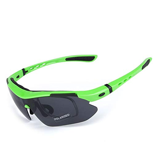 Beydodo Schutzbrille Damen Herren Grün Winddichte Brille Sport Sonnenbrille Schießbrille Verstellbar