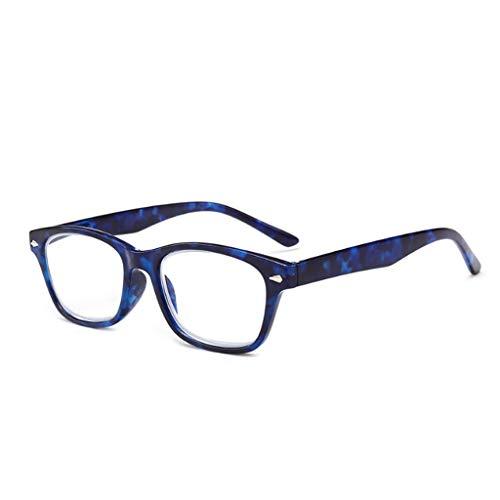 Kalttoy Flexible Unisex Flexible Junge Lesebrille +1,00 bis +4,00 Hot (Blau, 3.50)