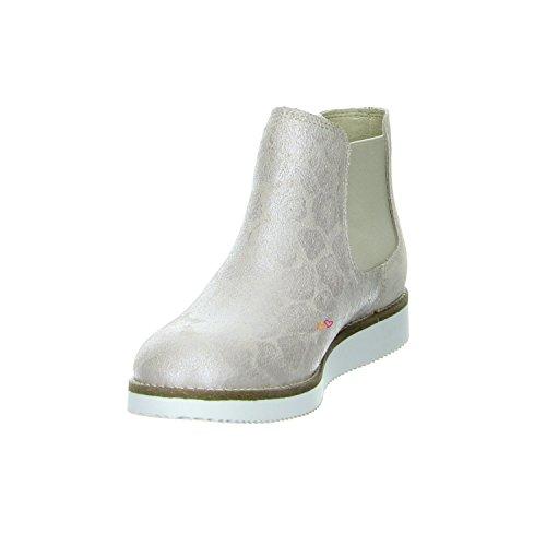 Online Shoes B6022 Chelsea Boots Leder Beige Beige