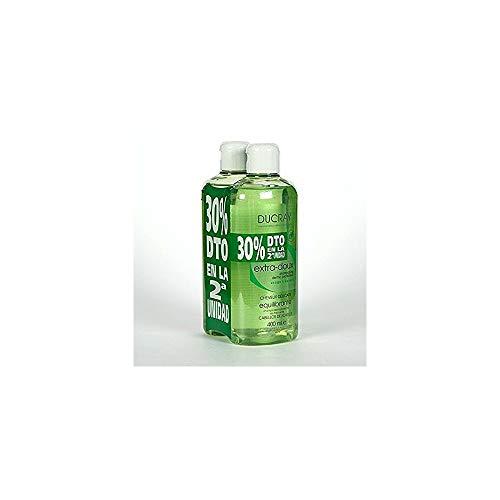 2 X Shampoo Extra delicato DUCRAY 400ml.Senza parabeni fenossitanolo e Siliconi