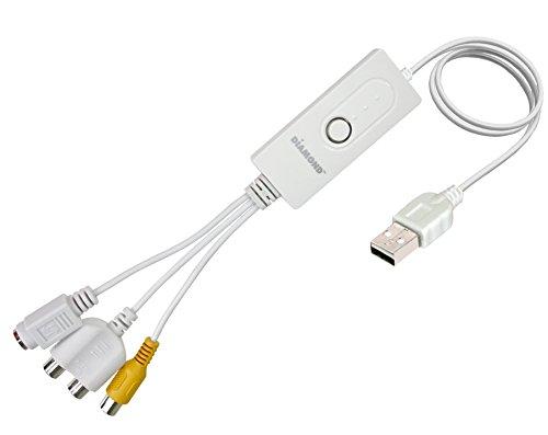 Multimedia diamante USB 2,0 Video atesoramiento para MAC TV sintonizadores y vídeo VC500MAC