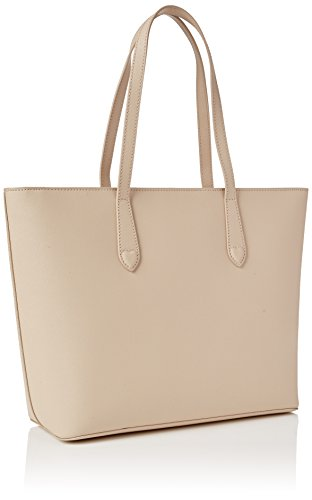 TWIN SET As7pwn, Borsa a Spalla Donna, 13 x 28 x 33 cm (W x H x L) Bianco Sporco (Almond)