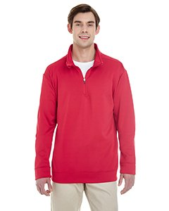 7 oz. Tech Quarter-Zip Sweatshirt SPRT SCARLET RED 2XL ()
