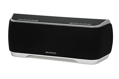 musaic-mp10-wireless-smart-speaker-for-multi-room-music-streaming-black-silver