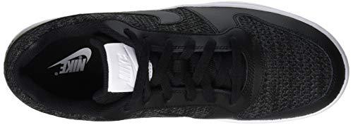 Nike Nike Ebernon Low Prem Zapatos de Baloncesto Hombre, Gris (Dark Grey/Black/White 001), 44 EU
