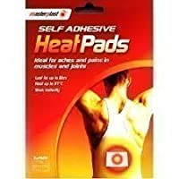 12 x Master Plast Self Adhesive Heat Pads, Lasts up to 8 Hours Each, 6 Packs of 2.