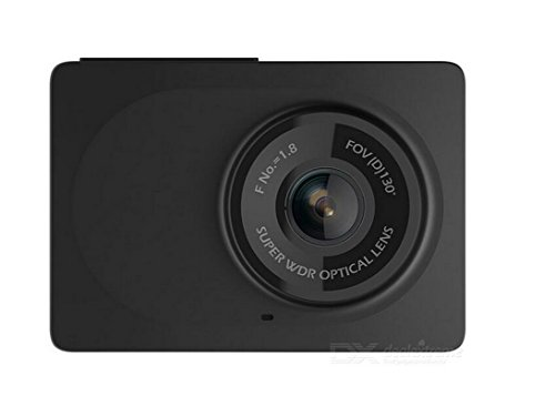 "Xiaomi YI Mini Dashcam Cámara Full HD 1080P 2.7"" Pantalla del coche DVR 130 grados WDR/3D DNR CMOS (2Pcs)"