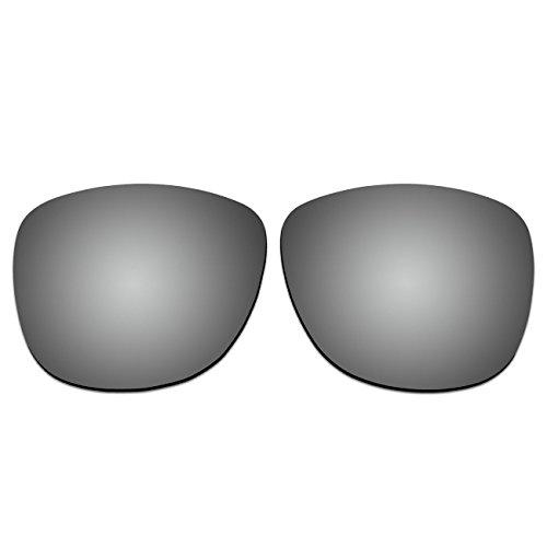 aCompatible Ersatz-Objektive für Ray-Ban Wayfarer RB410554mm Faltbar Sonnenbrille, Titanium - Polarized, Small
