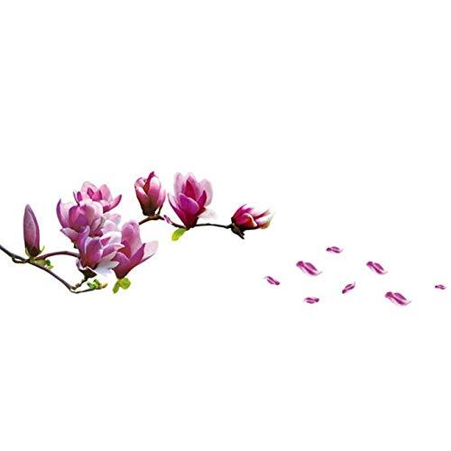 C wandaufkleber frische Magnolia abziehbilder für Wohnzimmer Schlafzimmer tv tapete große abnehmbare DIY Kunst Dekoration ()