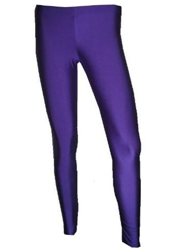 Neon UV Purple Leggings - Made in England - Choice of Sizes