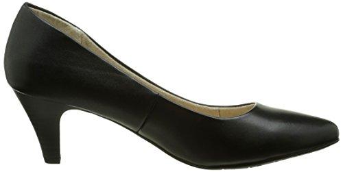Tamaris22428 - Scarpe con Tacco Donna Nero (Nero (Black 001))