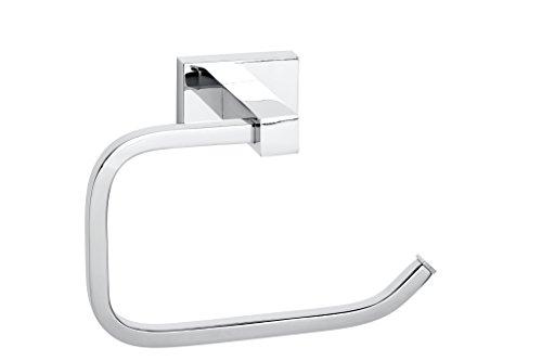 8d0616a75ff2 Noa Bains CM Porte-Rouleau de Papier WC sans Couvercle Chromé Brillant