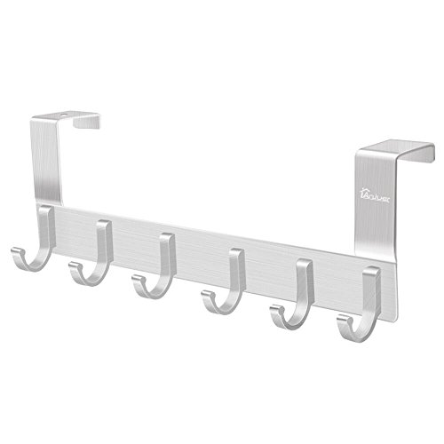 Anjuer Perchero Puerta Colgadores Puerta Aluminio