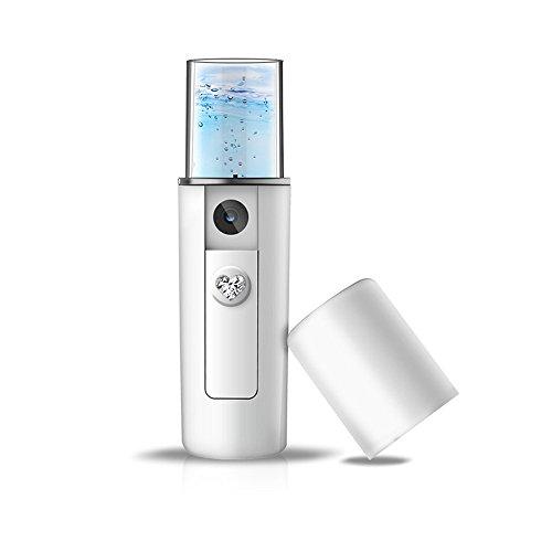 Gesichtssauna xhforever Handlich Tragbar NanoSprayer, Gleitend Nano Gesichtssauna, Wiederaufladbar USB Mist Spray -