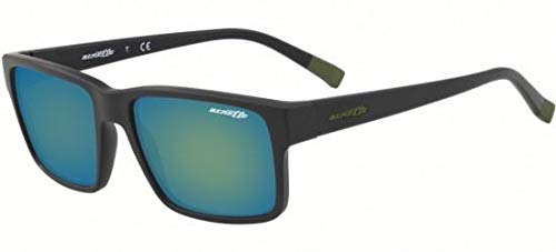 Ray-Ban Herren 0AN4254 Sonnenbrille, Schwarz (Matte Black), 56.0