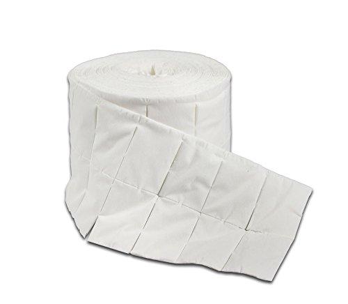 Vetrineinrete Rotolo di pads 250 pezzi per ricostruzione unghie colata semipermanente salviettine tamponi pad in cellulosa C22