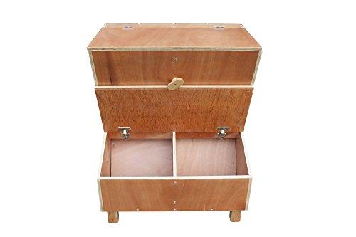 time4horses 220ltr FIFO Futterkiste Futterbox Futtertonne Futterbehälter Futter Kiste Box Tonne