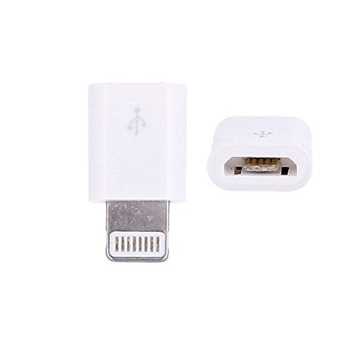 Adaptador de Cable Micro USB para iPhone 5, iPhone 6, iPhone 7, iPhone