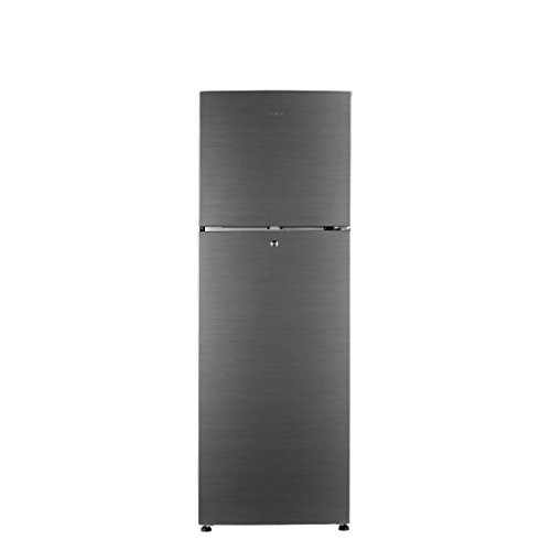 Haier 247 L 2 Star Frost-Free Double Door Refrigerator (HRF-2674BS-R, Brushline Silver)
