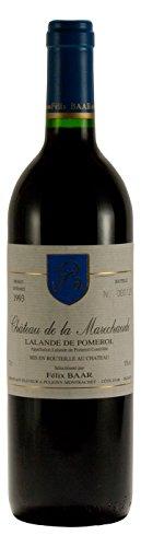 Lalande De Pomerol AOC 1993 - Alter Bordeaux Wein aus Frankreich, Cabernet Sauvignon, Merlot