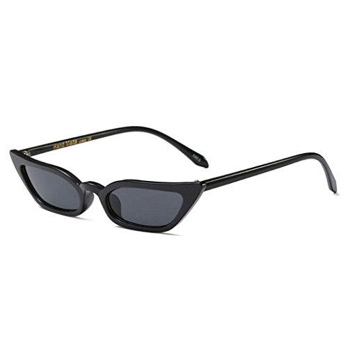 Burlady Women's Small Cateye Sunglasses Cute Plastic Tinted Lens Eyeglasses
