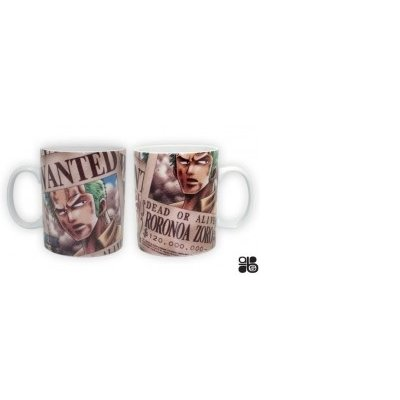 AbyStyle - Mug - One Piece Wanted Zorro - 3760116324564