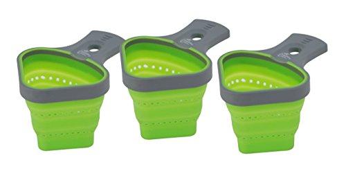 Jokari 3 Count Healthy Steps Portion Control Pasta Basket, Multicolor by JOKARI