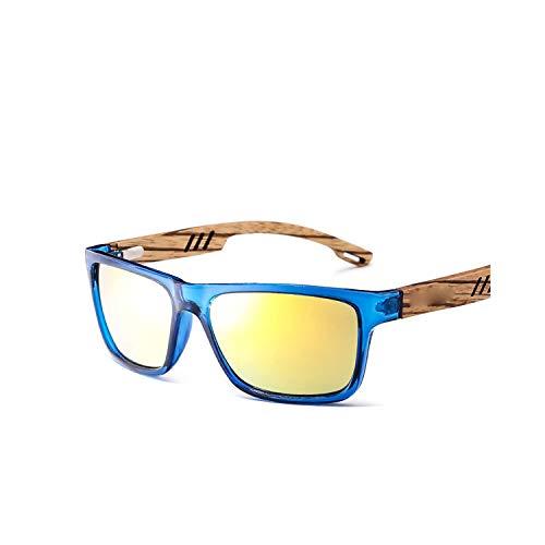 Sport-Sonnenbrillen, Vintage Sonnenbrillen, Brand Design Zebra Wood Sunglasses For Männer Fashion Sport Color Gradient Sunglasses Driving Fishing Mirror Lenses GR8016 4